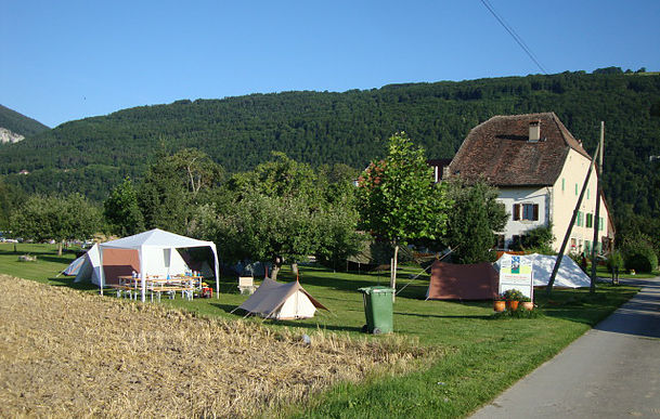 Camping Bois du Fey Orges