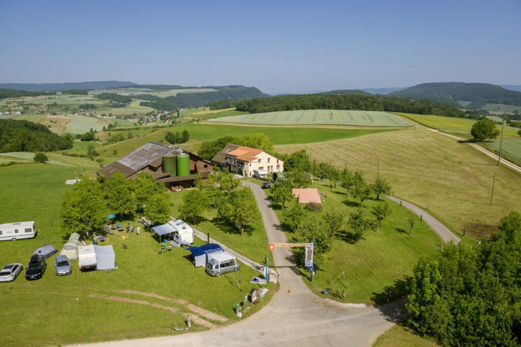 Agrartourismus Camping Eichhof Herznach