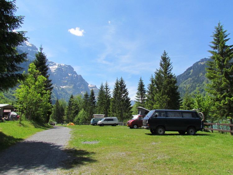 Campingplatz Güntlenau Klöntal