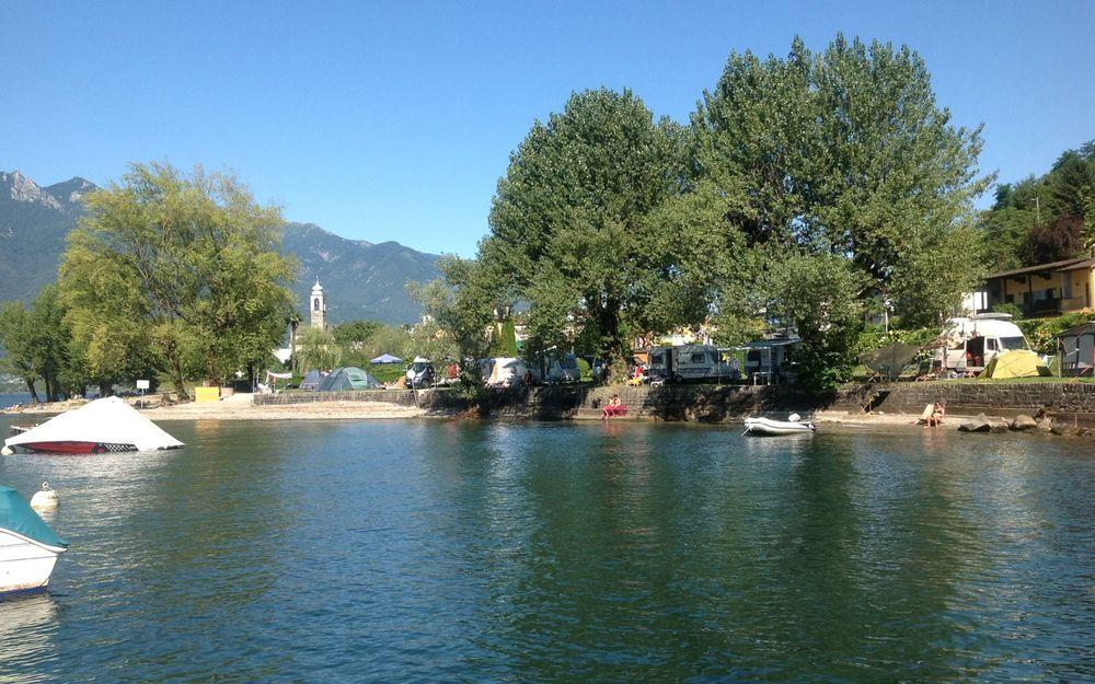 Camping Bellavista Lago Maggiore Vira Gambarogno
