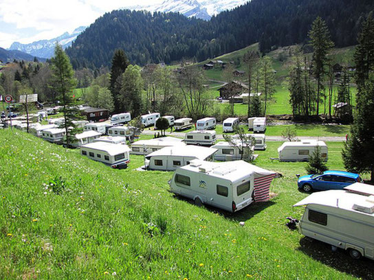 Camping TCS Le Murée Gland