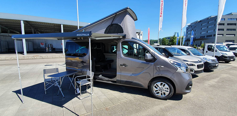 Nissan NV300 «Michelangelo» Westfalia / Garage Heller in Sursee